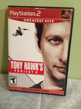 "Sony Play Station 2  PS2 ""Tony Hawk's Project 8"" - Greatest Hits 2006 ( T )"