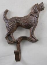 Iron Labrador Dog Coat Rack Dogs Key Holder Leash Hooks Animal Decor Gift Gifts