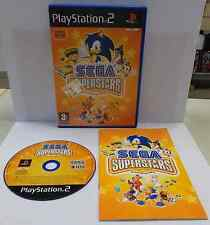 Console Gioco Game SONY Playstation 2 PS2 Play PAL SEGA SUPERSTARS Per Eye Toy