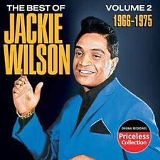 THE BEST OF JACKIE WILSON -  1966-1975  - NEW SEALED CD
