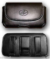 Leather Case Pouch Holster with Belt Clip/Loop for ATT Samsung Rugby 2 II A847