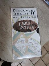 Land Rover Discovery Series II video - An Overview   VHS Cassette Format