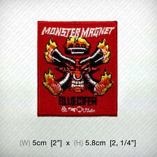 Monster Magnet IRON ON PATCH DIY Stoner Psychedelic Space Hard Rock Heavy Metal