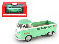 VOLKSWAGEN T1 PICKUP TRUCK GREEN COCA COLA 1/43 DIECAST MODEL BY MCC 445738