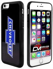 Cell Phone Case Cover Skin Clip for Apple iPhone 6 BLACK Chevy Bowtie Black Blue