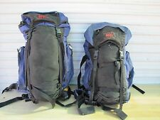 Two Pair REI Traverse Tour Star Backpacks Purple
