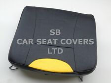 TX4 SEAT COVERS 2011 BLACK LEATHERETTE BASE ONLY
