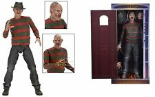 "Neca nightmare on elm street partie 2 freddy krueger 1/4 scale 18"" action figure"