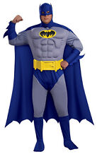 THE BRAVE & THE BOLD BATMAN ADULT DELUXE COSTUME PLUS SIZE
