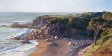 """Hidden Cove"" June Carey Limited Edition Fine Art Giclee Canvas"