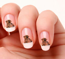 20 Nail Art Stickers Transfers Decals #591 - yorkshire Terrier Just peel & stick