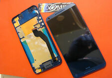 GLS: DISPLAY LCD+TOUCH SCREEN per HTC DESIRE 816G +COVER FRAME VETRO NERO BLUE