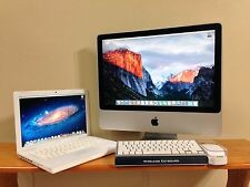 "Apple iMac - 20"", C2D, 250GB HD, 2GB RAM, OS X El Capitan + FREE MacBook"