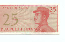 Indonesia 25 cent  Banknote UNC 1964