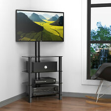 "Fitueyes TV Stand with Swivel Mount Media Competent for 32""-50"" LED LCD TVs"