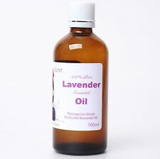 100% Pure 100ml Organic Undiluted Lavender Essential Oil Suani Aroma Therapy