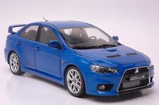 Mitsubishi Lancer Evo10-bbs car model in scale 1:18, blue