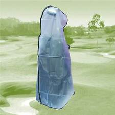 Universal Easy to Fit Golf Bag Rain cover with Full Zip for stand or trolley bag