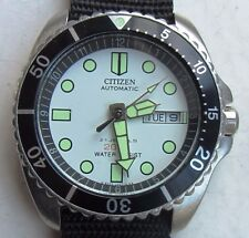 Vintage Citizen NY2300-09B NY2300 Automatic Divers Submariner Watch