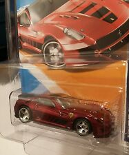 2012*Hot Wheels Super Treasure Hunt Ferrari 599XX Spectraflame��Uncirculated