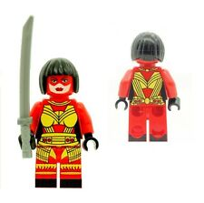 Katana Minifigure Classic with Weapon Printed on LEGO Parts Custom