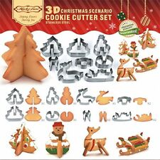 DIY Biscuit Cookie Pastry Fondant Baking 3D Mold Mould Cutter Cake Decorating