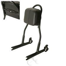 Detachable Passenger Sissy Bar Backrest Upright For Harley Softail Deluxe FLSTN