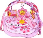 Baby Pink Flower Musical Playmat Gym Activity Toy Play Mat