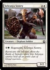 MTG Magic RTR - (4x) Selesnya Sentry/Sentinelle de Selesnya, English/VO