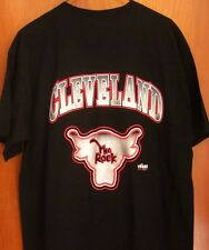 THE ROCK lrg Cleveland pro wrestling T shirt 2012 Dwayne Johnson logo Ohio WWF