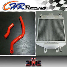 ALUMINUM RADIATOR&SILICONE HOSE FOR HONDA CR250R CR250 1997 1998 1999 97 98 99