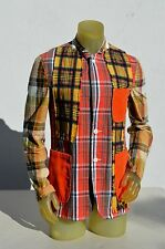 Comme des Garcons Homme plus plaid checkered summer resort jacket size M MINT