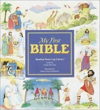 Lap Library: My First Bible by Linda Hayward (1994, Board Book)