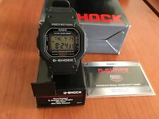 NEW! DW5600E-1V Casio Men's G-Shock Classic Digital Watch