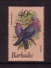 BIRDS on Stamps....  Barbados  1979  40c pigeon mint