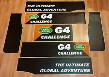 LAND ROVER FREELANDER 4 DOOR Aftermarket DECAL G4 CHALLENGE Stripes Sticker SET