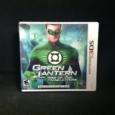 Green Lantern: Rise of the Manhunters (Nintendo 3DS, 2011)