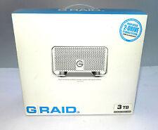 G-Raid 3 3 TB External Hard Drive NEW!!! 800 FireWire USB 2.0 eSata