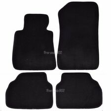 Fit For 05-09 BMW E90 3 Series 4Pcs Black Nylon Front&Rear Floor Mats Carpet