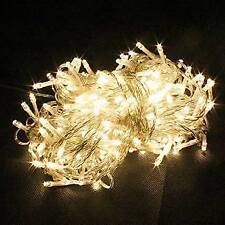 10 meter LED Rice Serial String Still Lights Decoration Diwali/Christmas/New Yr