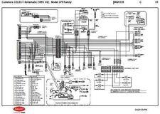 1995.5 Peterbilt 379,357,375,377,378 Cummins N14 CELECT Wiring Diagram Schematic