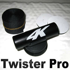 Twister camera mount for bullet, onboard incar motorcycle helmet cam adjustable