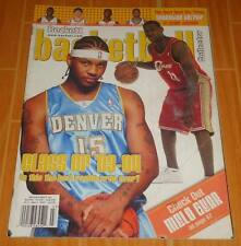 LEBRON CARMELO BECKETT BASKETBALL #164 MARCH '04 ROOKIE YEAR RARE MAGAZINE