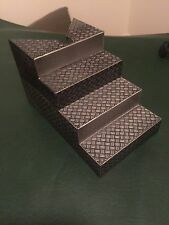 WWE WWF Figure Elite Wrestling Ring Black Break Away Steps Stairs ACCESSORY