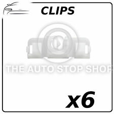 Clips Windscreen Peugeot 407 Part Number: 11260 Pack of 6 In Plastic Bag