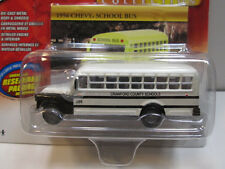 '56 CHEVY SCHOOL BUS  ~~~ JOHNNY LIGHTNING @@WHITE LIGHTNING@@