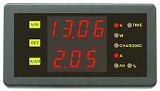 Battery Monitor State of Charge 90V 30A Voltage Current Capacity Power Ah Meter