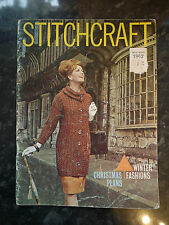 Vintage Crochet & Knitting Stitchcraft Magazine November 1962