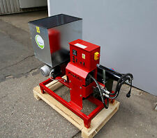 Wood waste Briquetting Press Sawdust Briquette Machine maker presser 230V 12KG/H