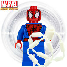 LEGO Marvel Super Heroes Minifigures - Spider-Man c/w White String Minifigure